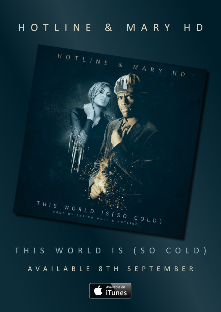 World is so cold poster